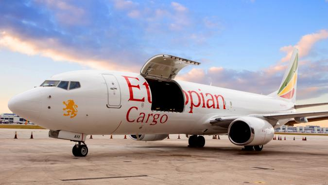 737-800 converted freighter to Ethiopian
