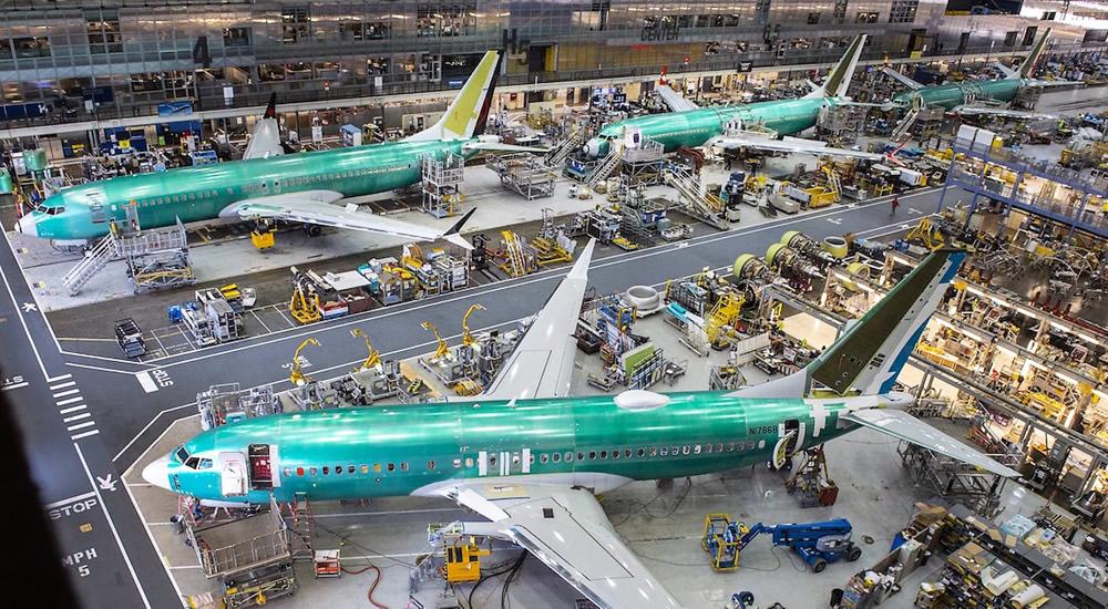 Boeing 737 MAX at Renton