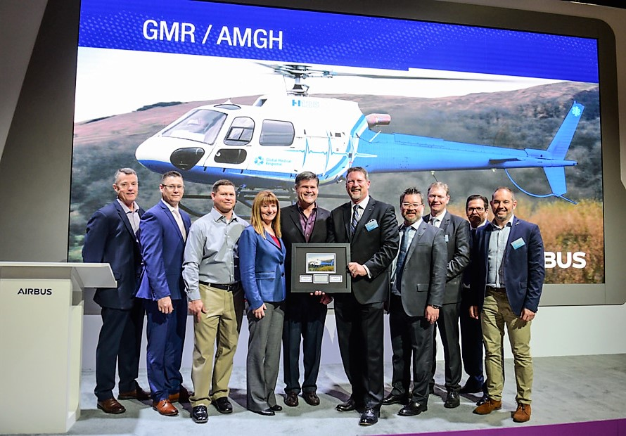 Air Medical Group Holding helicopter order