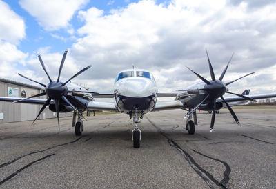 First nine-bladed propeller