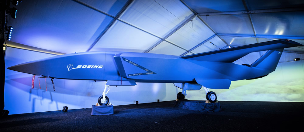 Boeing's new unmanned system