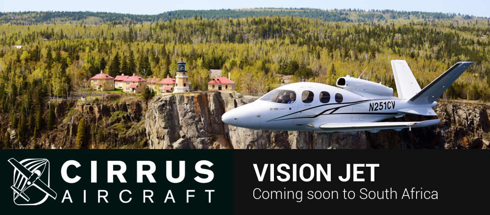 Cirrus Vision Jet coming to South Africa soon
