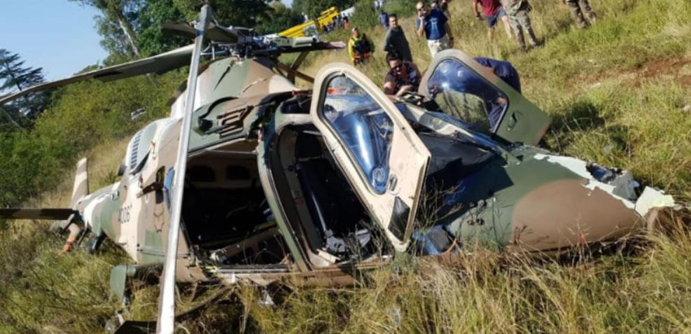 Agusta 109 LUH accident
