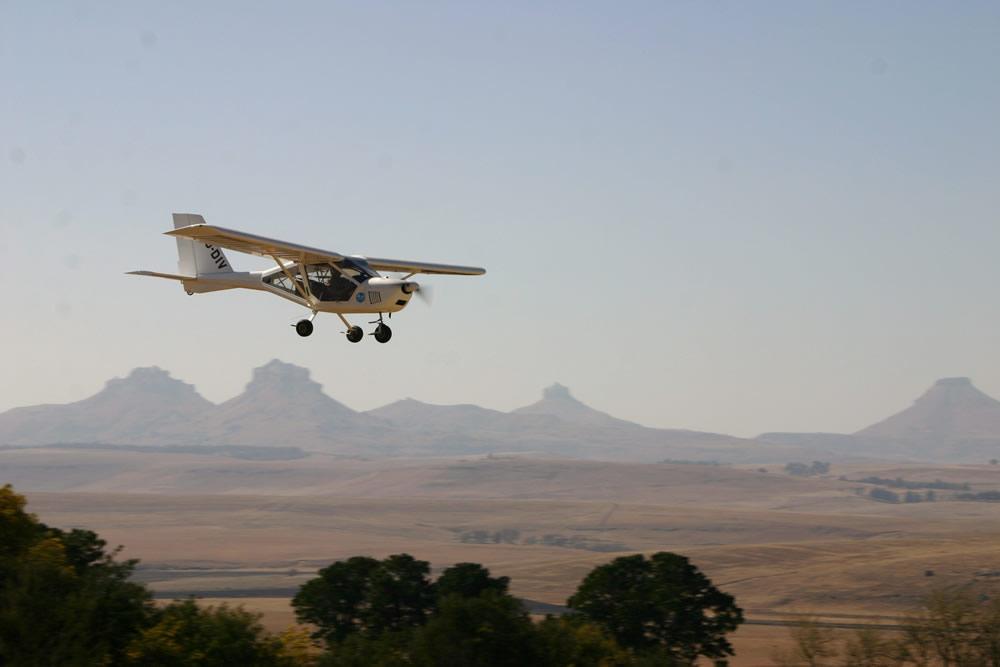 Sungazer A22 Aeroprakt landing