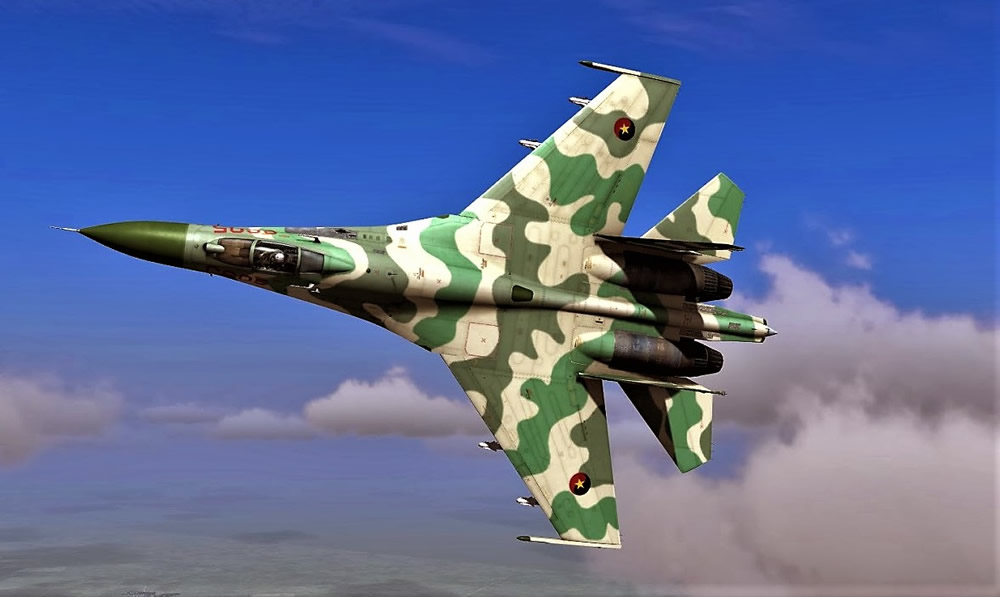 Angola Air Force Su-30K