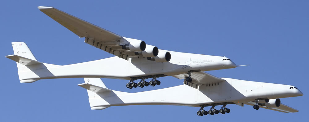Stratolaunch first flight