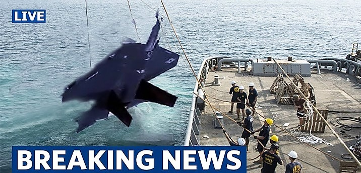 F35 wreckage found