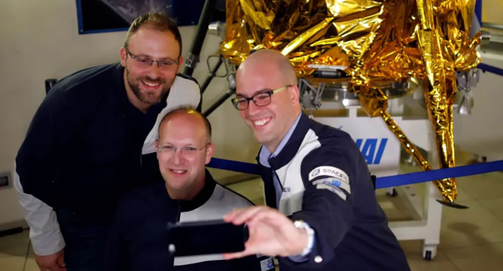 Team SpaceIL award