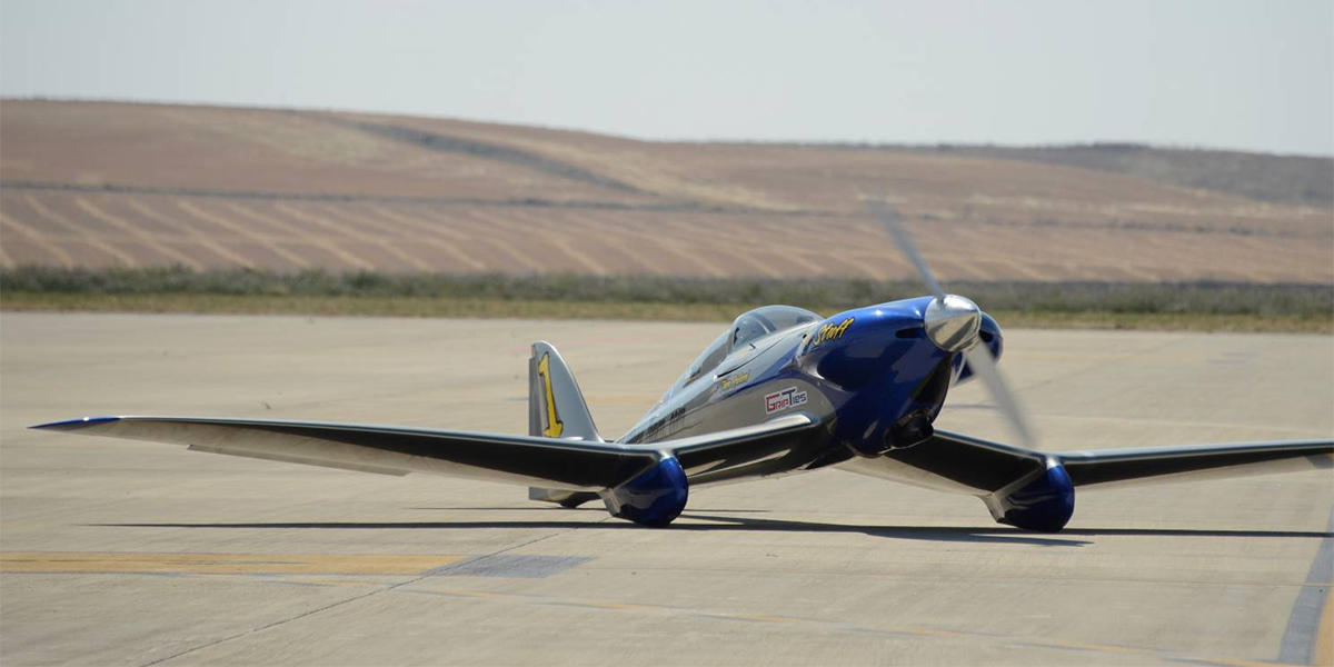 Electric aircraft racing