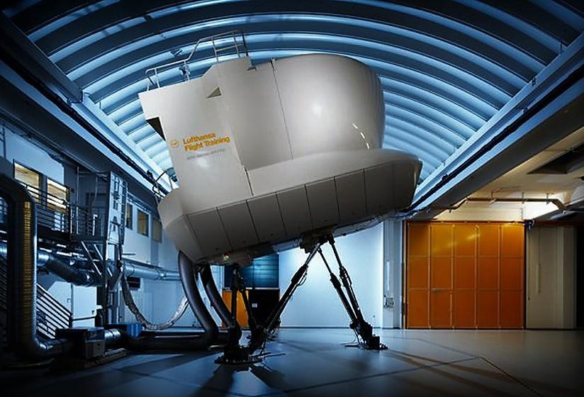 Lufthansa simulator
