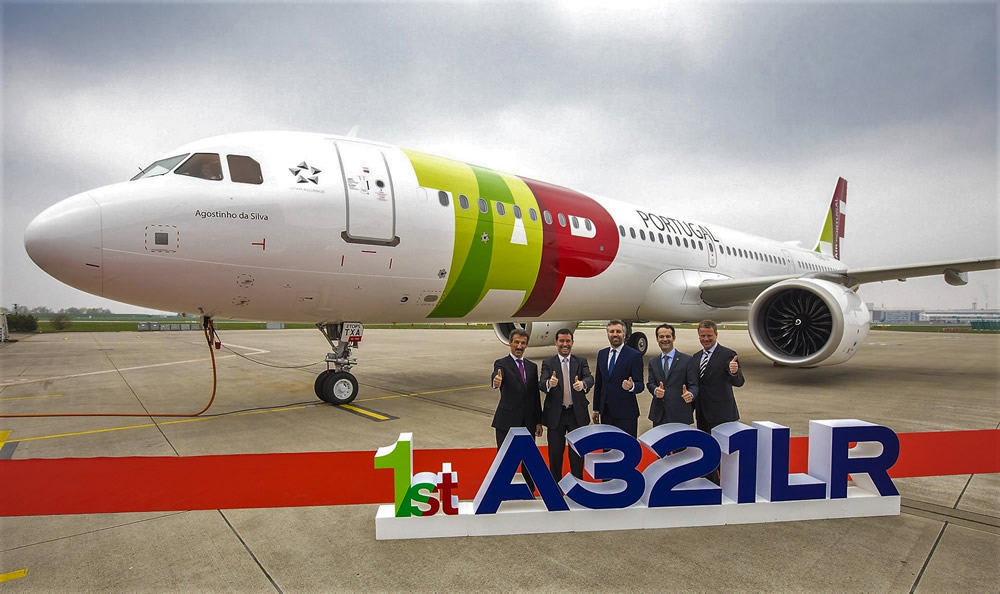 TAP A321LR 1st delivery