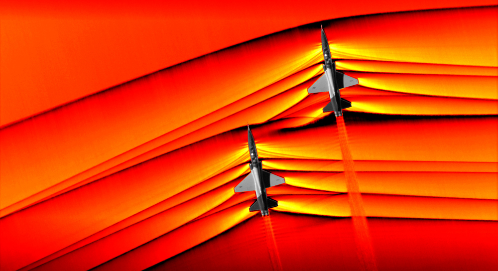 NASA supersonic shockwave