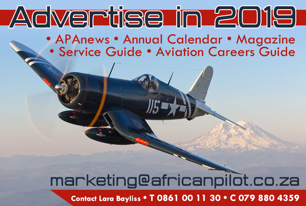 Advertise in African Pilot!