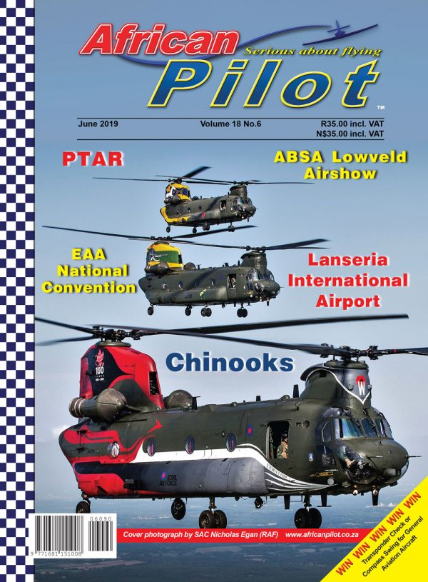 June 2019 edition of African Pilot magazine