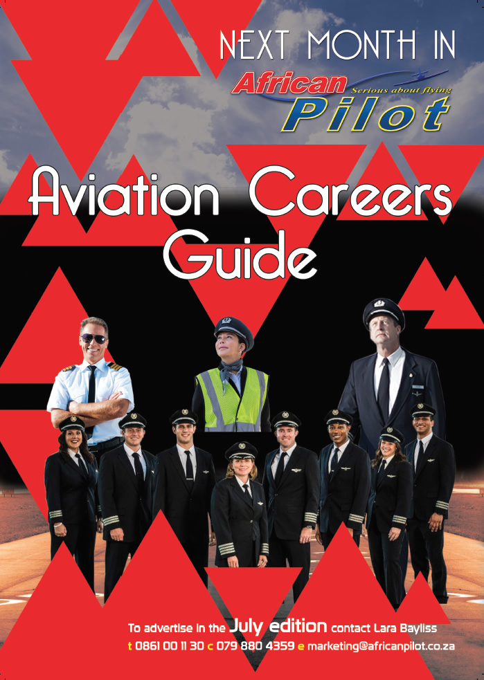 Next month in African Pilot