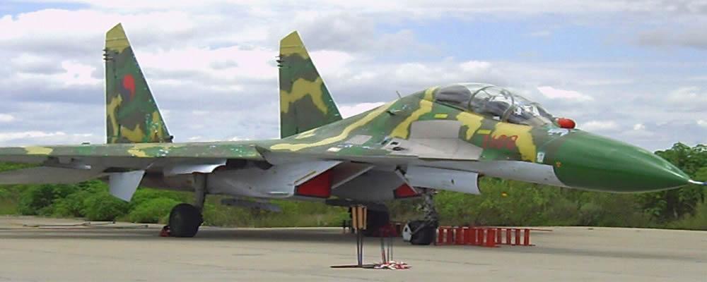 Angola Su-27 fighters