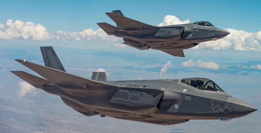USAF F-35s