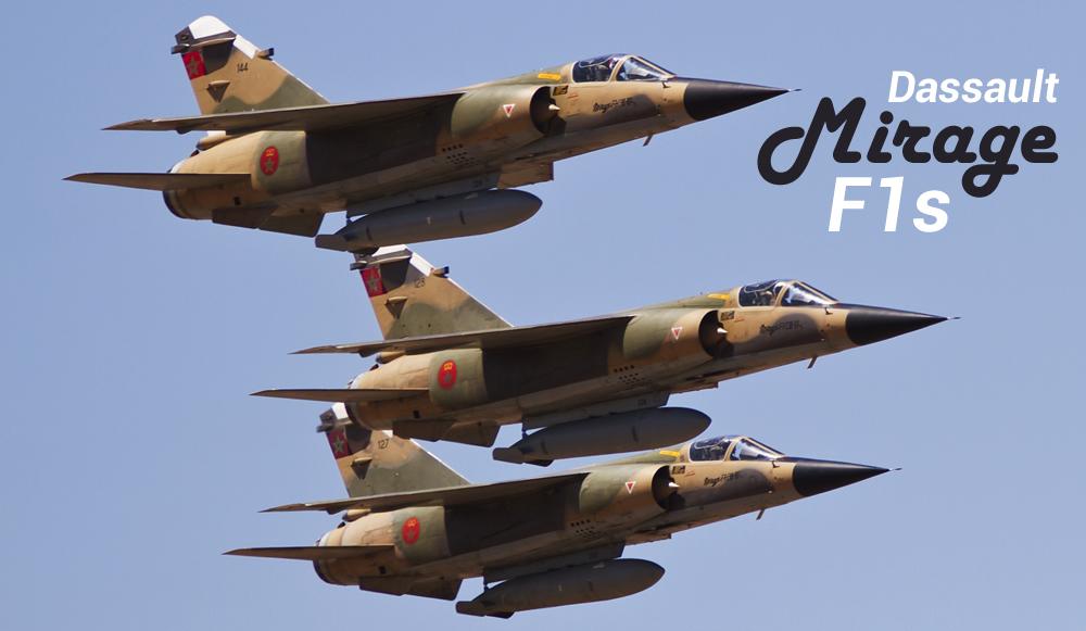 Dassault Mirage F1s
