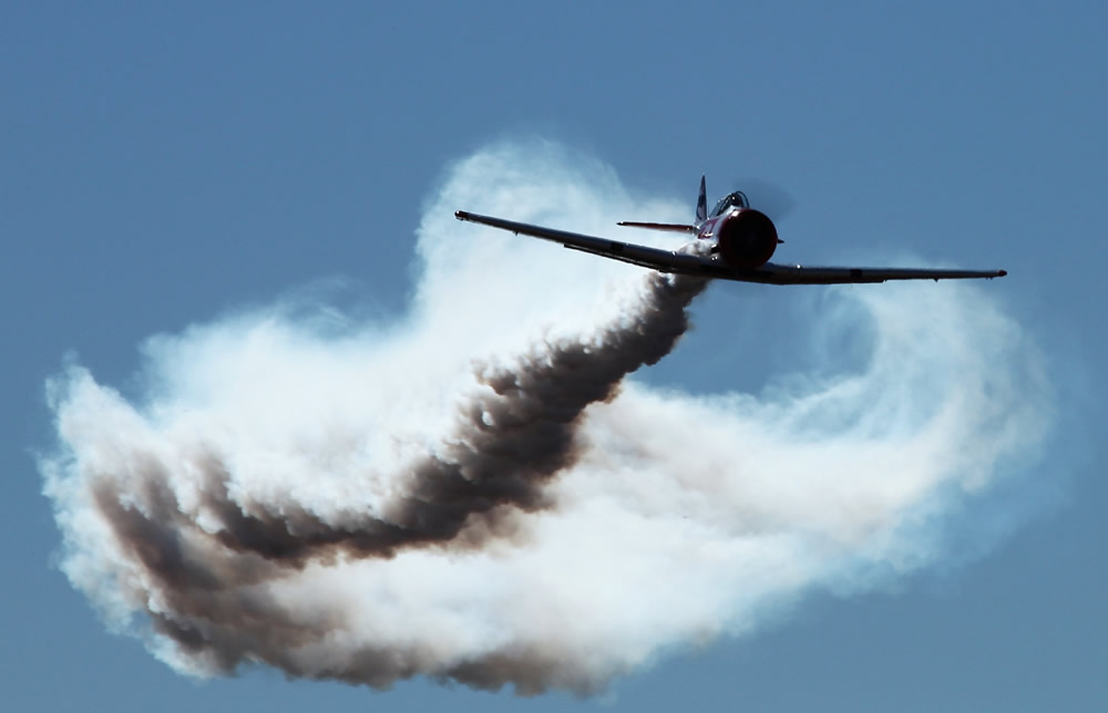 Harvard flying out of its smoke