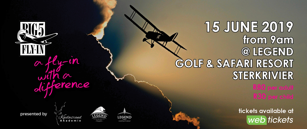 Legend Gold and Safari resort fly-in