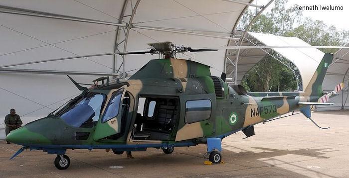 Nigerian Air Force AW109E