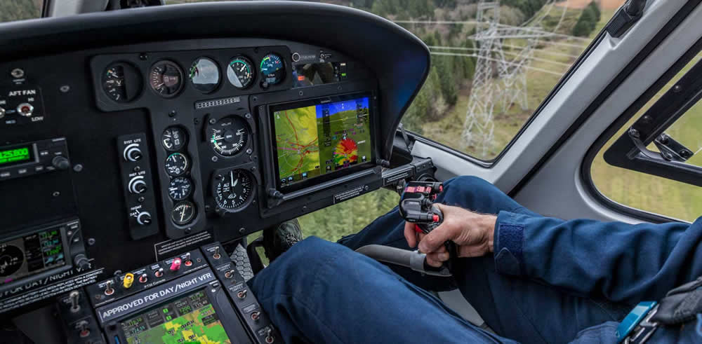 Garmin TXi for helicopters