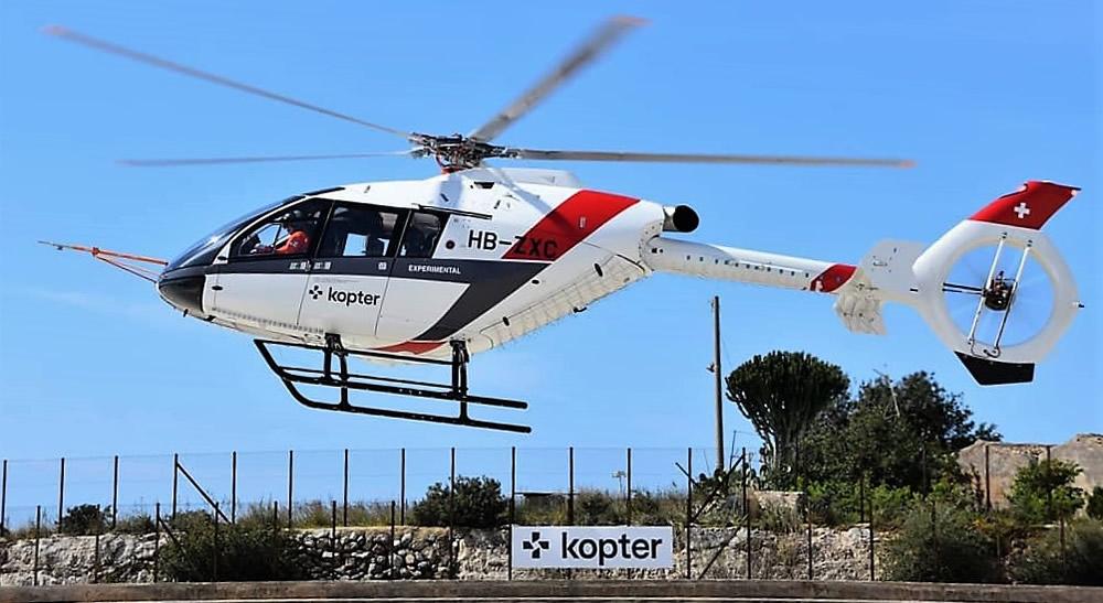 Kopter SH09 in Sicily