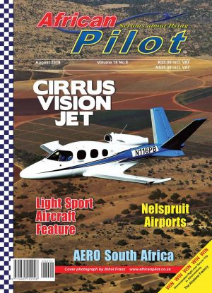 August 2019 edition of African Pilot magazine