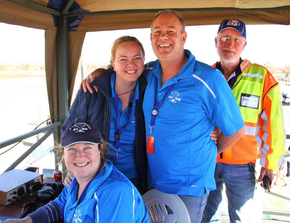 Nylstroom ATCs Sitting:Marelise Scheepers (FALA) Standing: Sean & Roanda England (FALE) with Nigel Musgrave safety officer