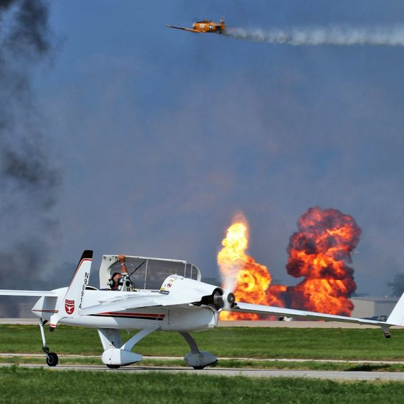 Reporting from 2019 EAA AirVenture Oshkosh: 25 July