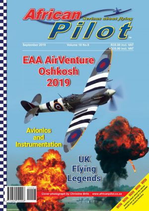 September 2019 edition of African Pilot magazine