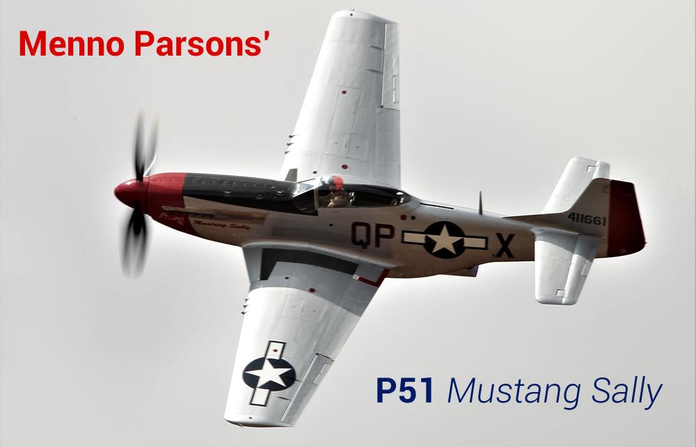 Menno Parsons P51 Mustang Sally
