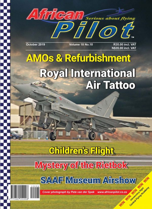 October 2019 edition of African Pilot magazine
