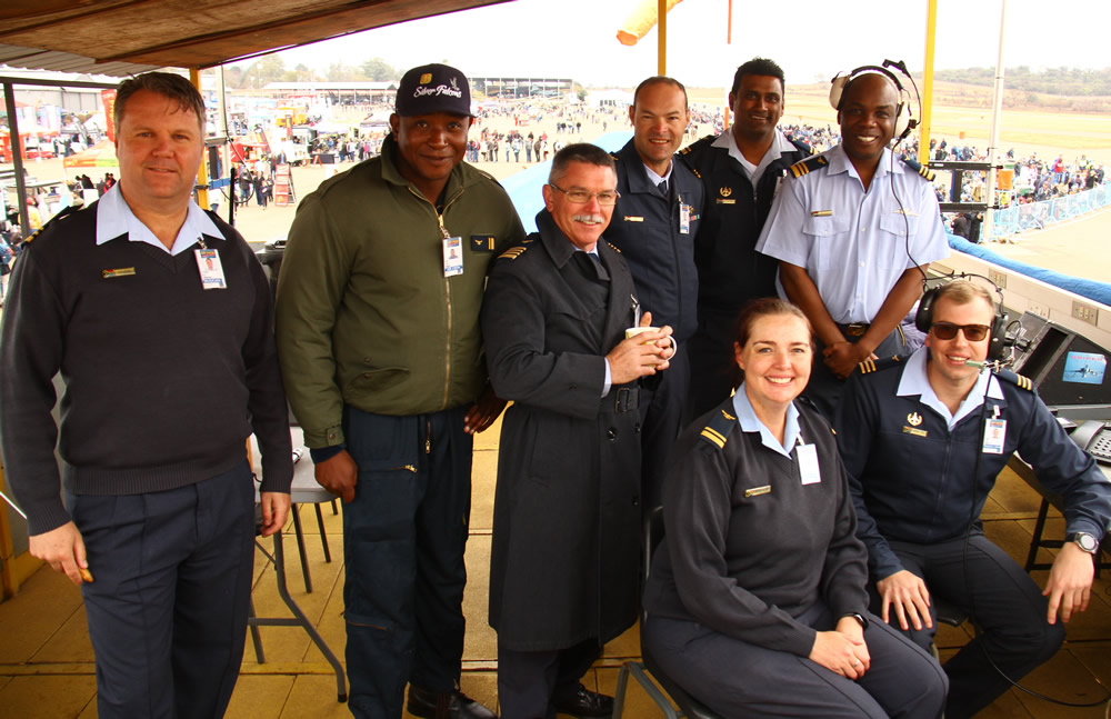 SAAF airshow management team