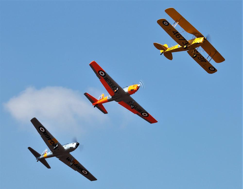 SAAF Vintage formation