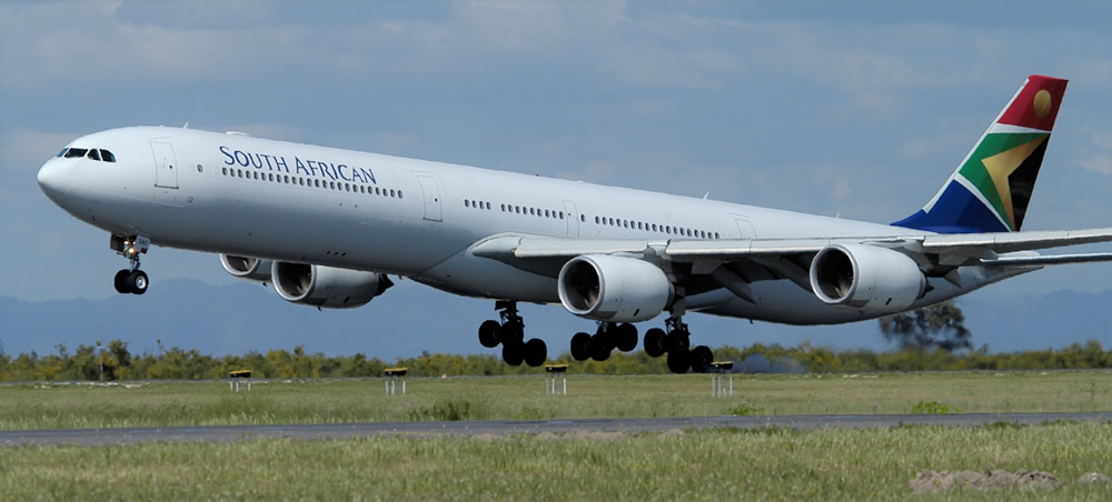 SAA Airbus A340-600