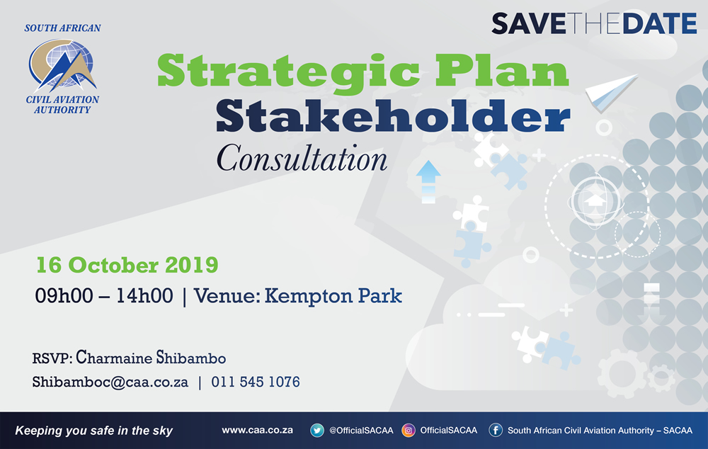 SACAA Strategic Plan Stakeholder Consultation