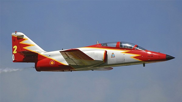 Spanish C-101 Aviojet training jet