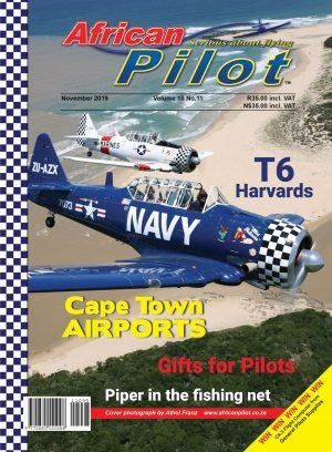 November 2019 edition of African Pilot magazine