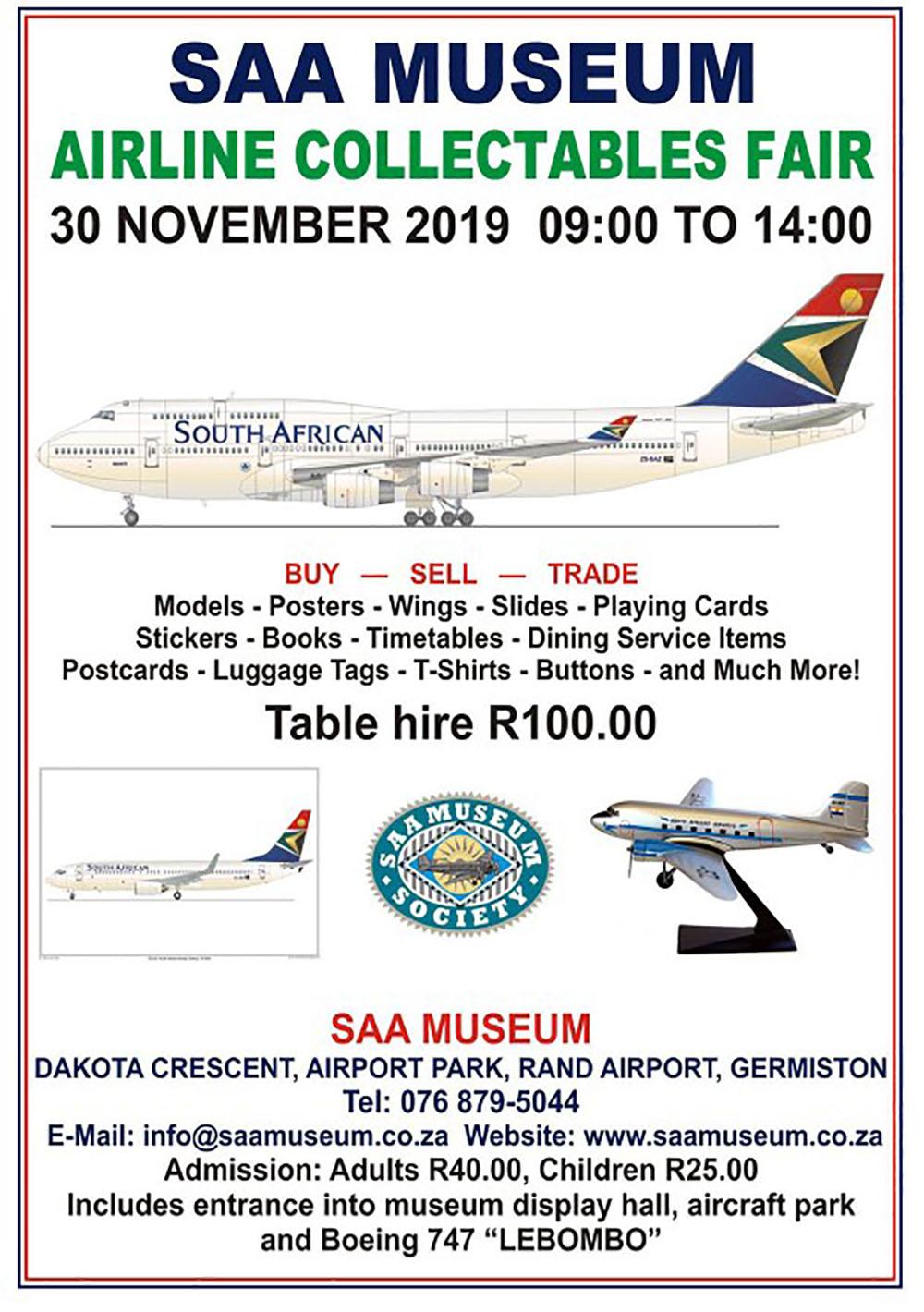 SAA Museum poster