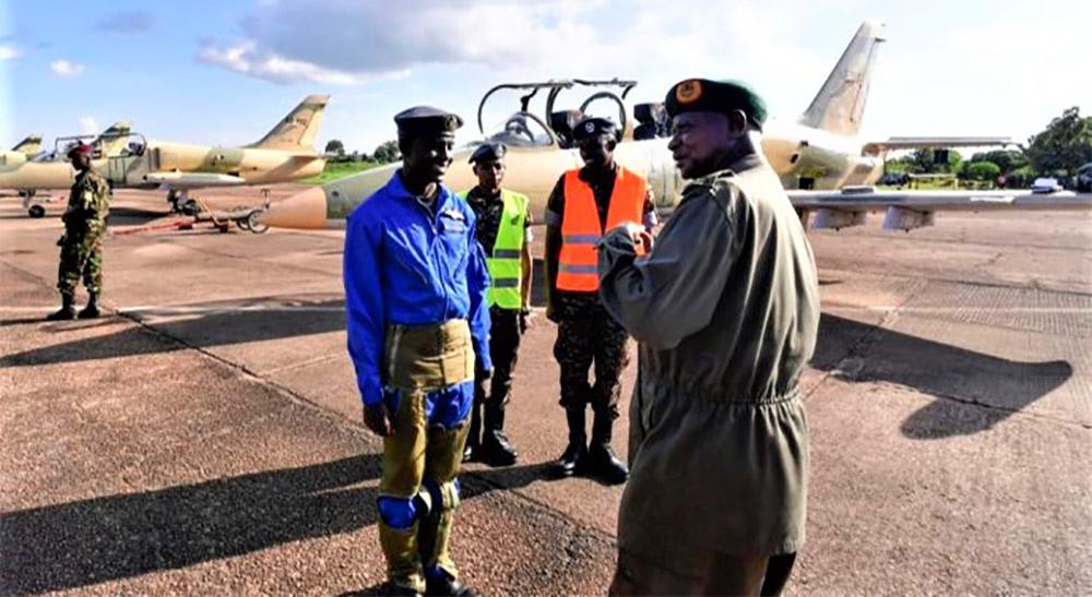New pilots for Uganda Air Force