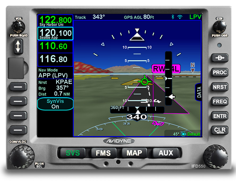 Avidyne introduces Atlas multifunction FMS