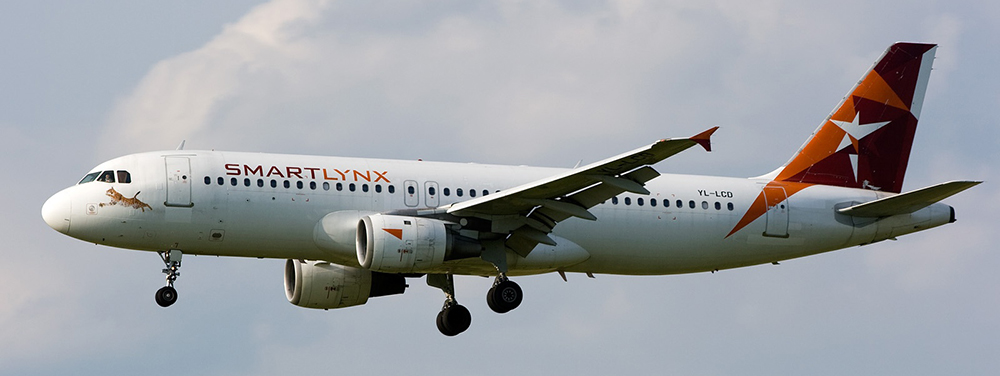 SmartLynx Airlines Airbus A320