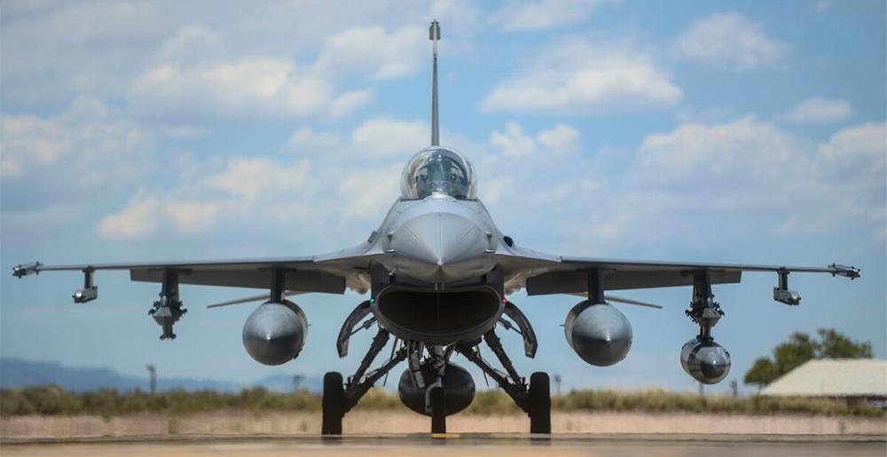 USAF F-16 fighter jet