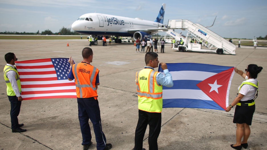 US bans scheduled flights to all Cuban airports other than Havana