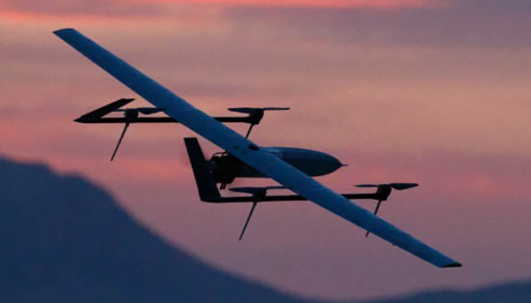 High-endurance UAV project