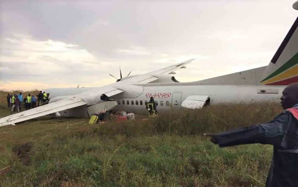 Ethiopian Airlines DHC-8-400 crash