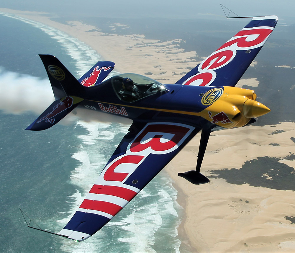 Patrick Davidson's Game Bird aerobatic plane