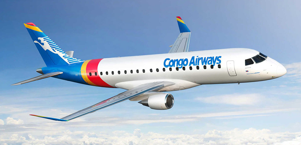 E175 Congo Airways