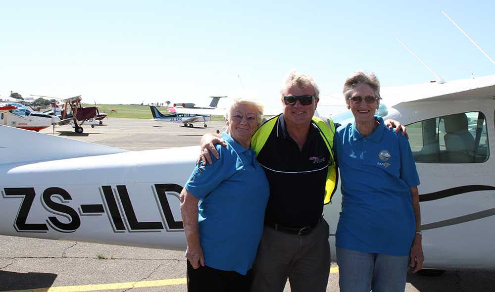 Two Elders who flew with me on Saturday